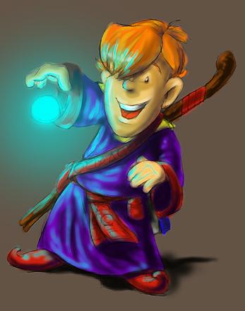 DSG 261: Character: Wizard Apprentice
