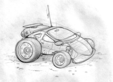 DSG 457: Vehicle: Light armored speed (dune)buggy
