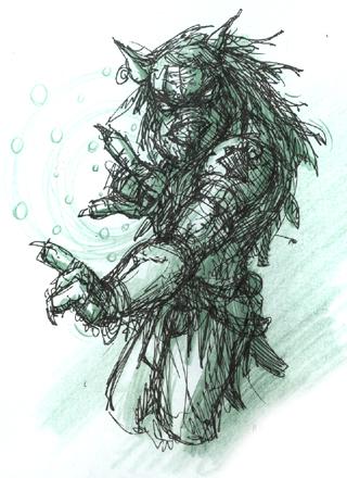 DSG 623: Creature: Beast Shaman