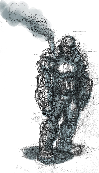 DSG 677: Character: Machine-man